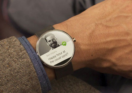 Android wear for watch